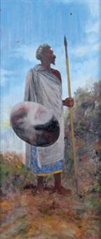 guerrier malgache by stephen rabotovaho