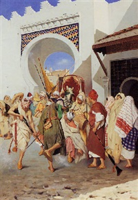 the morrocan wedding dance by eugenio tomasi