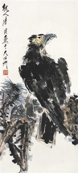 松鹰图 by tang yun