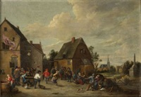 danse villageoise by thomas van apshoven