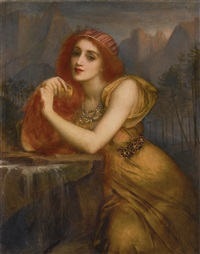 LORELEI, THE NYMPH OF THE RHINE