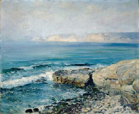 incoming fog la jolla by guy rose
