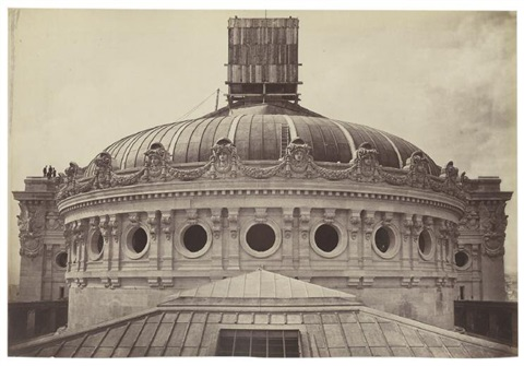 cupola of the new paris opera paris by louis emile durandelle