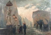 chioggia, p. le dell'arcivescovado by vittorio cajani