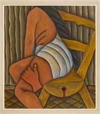 mujer sentada by josé luis romo