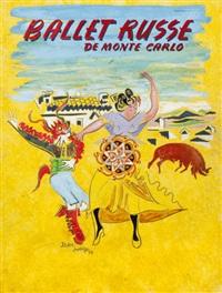 ballet russe de monte carlo by joan junyer