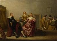 merry company by anthonie palamedesz