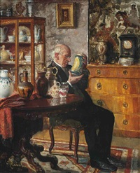 the connoisseur by adolf reich