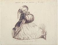 j'eus le manchon by jean ignace (isidore gérard) grandville