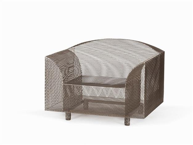 how high the moon armchair by shiro kuramata on artnet. Black Bedroom Furniture Sets. Home Design Ideas