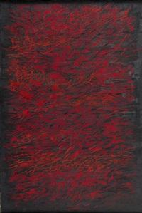 rouge et noir (czerwone i czarne) by roman opalka