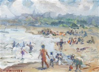 bradford beach fun by francesco j. spicuzza