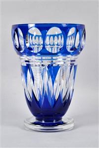 vase by val saint-lambert