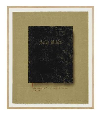holy bible by ed ruscha