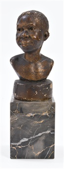 untitled (possibly martiniquaise or head of a martinique woman) by augusta savage