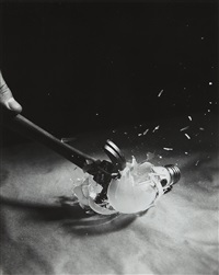 light bulb breaking by harold eugene edgerton