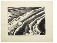 the tide, dymchurch by paul nash