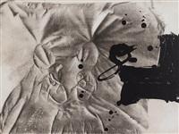 chaussures sur chaise, '84 by antoni tàpies