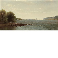 idle hours on the hudson by richard william hubbard