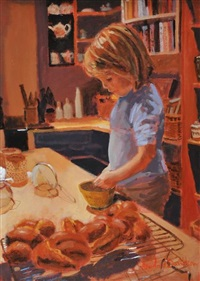 in the kitchen by rowland davidson