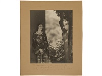 portraits of yvonne sinnard and katharane edson (set of 2) by edward weston