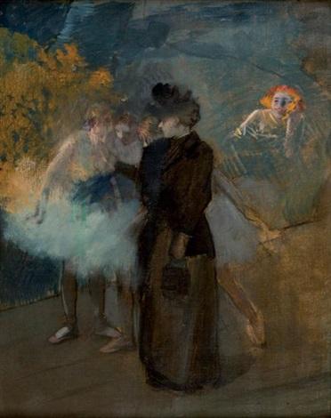 la maitresse de ballet by jean louis forain