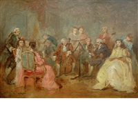 the recital by benjamin eugène fichel