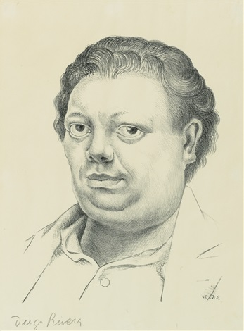 self portrait by diego rivera