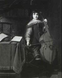 jeune musicien by antonie de waard
