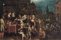the seven works of mercy by frans francken iii
