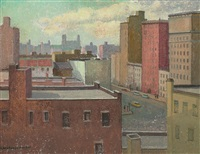 new york from my window by emma fordyce macrae