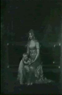 portrait d'une jeune femme et de son fils by jeanne elisabeth husson