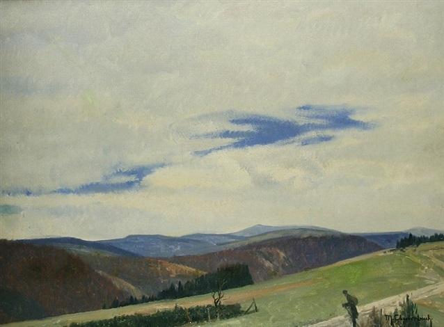 wanderer im hochsauerland by maximilien max clarenbach