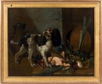 chien dans une cuisine by gabriel rouette