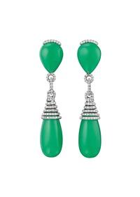 a pair of ear pendants by margherita burgener