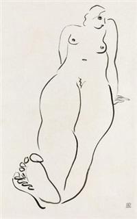 裸女 (nude) by sanyu