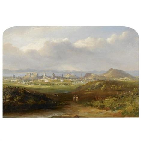 edinburgh (+ lake of menteith; pair) by henry g. duguid