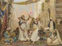 oriental dancers by fabio fabbi