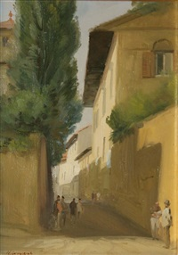 a street in florence by niccolo d'ardia caracciolo