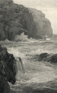 coast, isle of man by edmund gouldsmith
