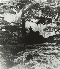 chiswick house gardens by bill brandt