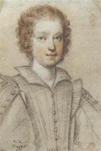 portrait of settimia manenti of salerno by ippolito leoni