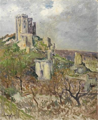chateau de lavardin by maxime maufra