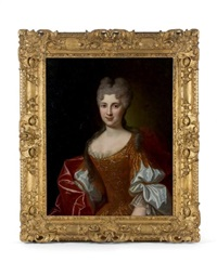 portrait présumé de la marquise de percy by french school (18)