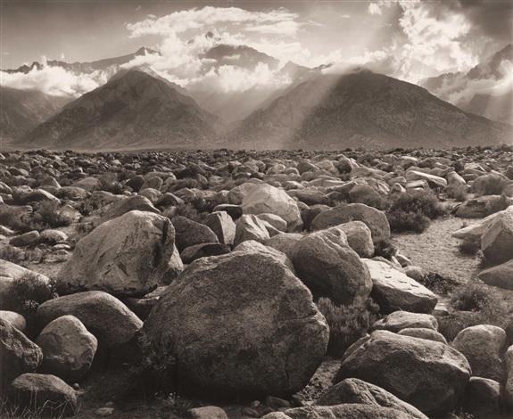 mount williamson, sierra nevada (from manzanar) by ansel adams
