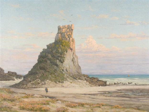 el morro en la playa de torres brasil by ceferino carnacini