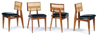 dining chairs (4) by george nelson