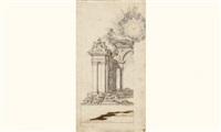 projet d'architecture pour un autel by cosimo fansaga