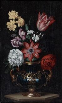 vase de fleurs by georg flegel