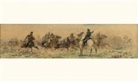 choc de cavalerie by sebastiano de albertis